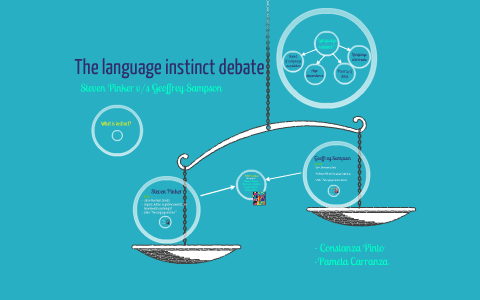 The Language Instinct Debate By Pamela Deramond On Prezi