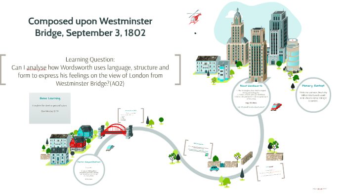Composed Upon Westminster Bridge September 3 1802 By