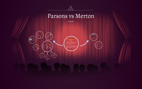 Parsons Vs Merton By Patricia Medina Olivas On Prezi