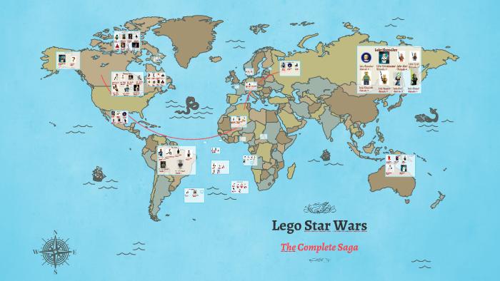 Lego Star Wars The Complete Saga By William Van Gelderen On