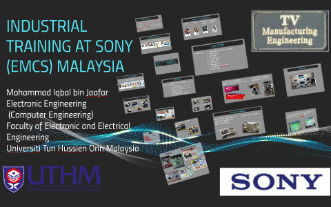 Industrial Training At Sony Emcs Malaysia By Mohammad Iqbal