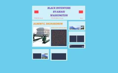 Black Inventors By Amari Washington On Prezi