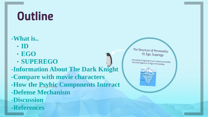 id ego superego examples in movies