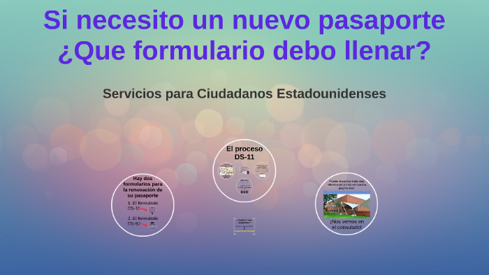 El Formulario Ds 11 By Acs Guayaquil On Prezi