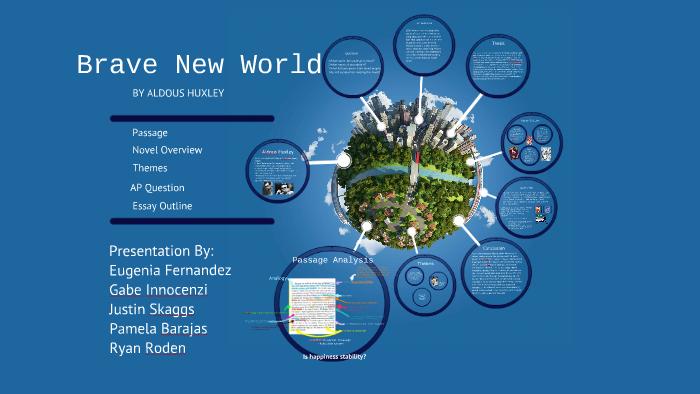 Essay topics for brave new world