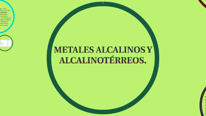 metales alcalinos y alcalinotrreos by andreangiejuan castrofloridomendoza on prezi
