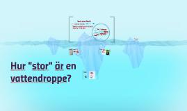 hur mycket är en droppe