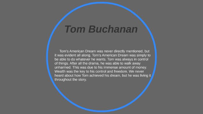 Tom Buchanan by Max Munz on Prezi