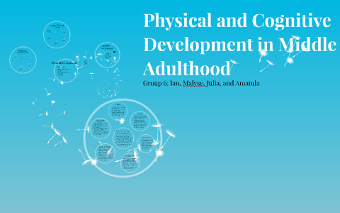 middle adulthood physical development
