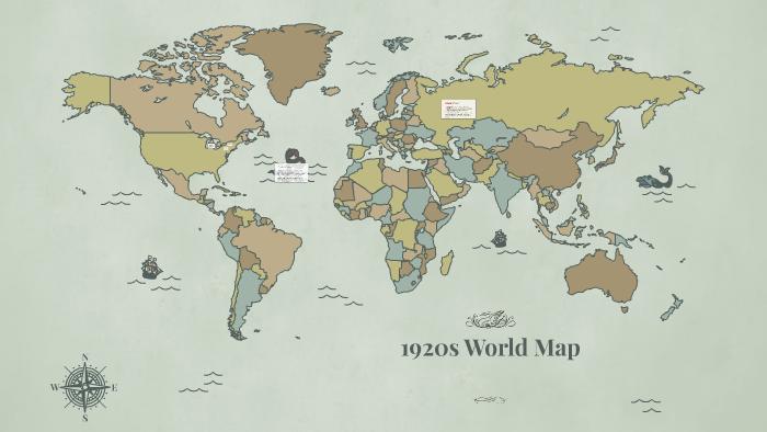 1920s World Map by Dylan Gresch on Prezi