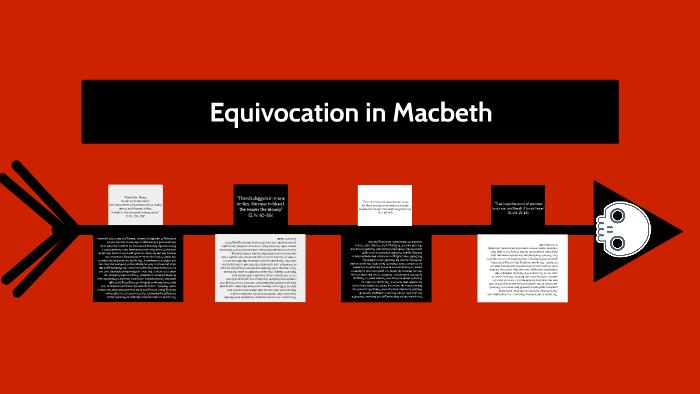 equivocation in macbeth