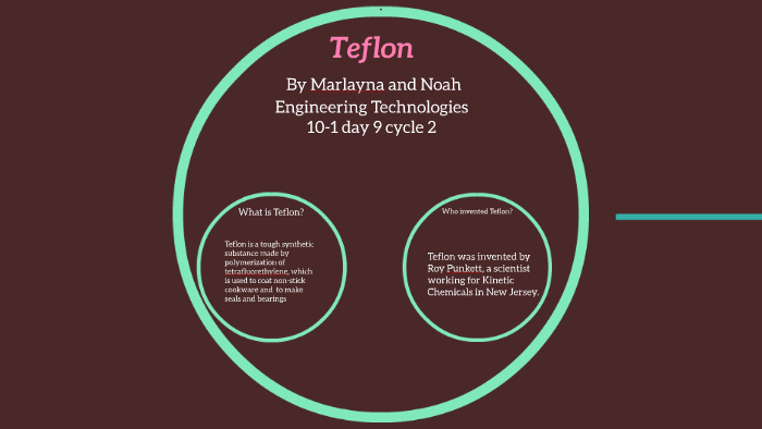 Teflon by Marlayna Anne Parsons on Prezi