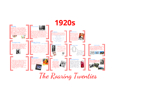 The roaring twenties essay