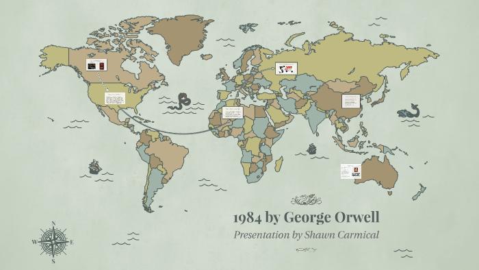 1984 by George Orwell by Shawn Carmical on Prezi