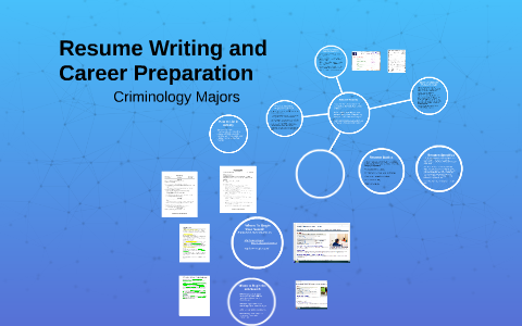 Resume Writing And Criminology Majors By Jeremy Nere On Prezi
