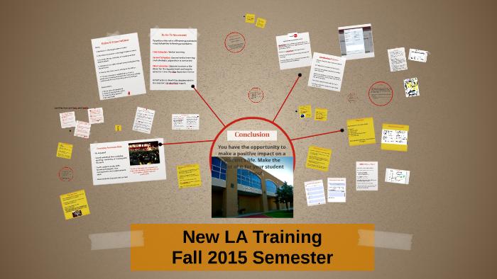 New LA Training By Michelle Stout On Prezi
