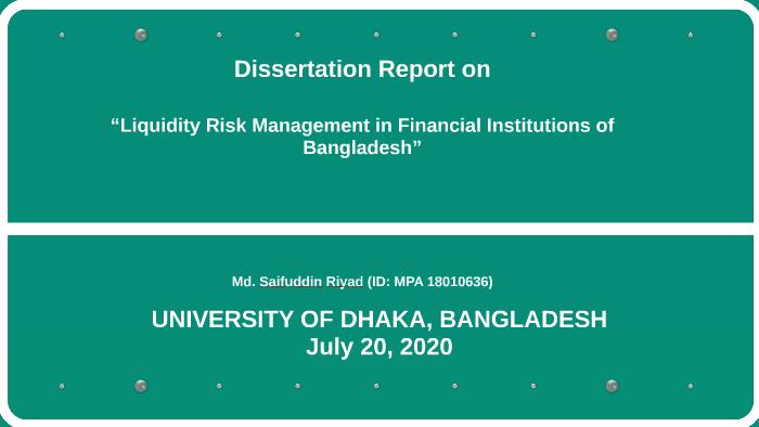 internship report on green banking in bangladesh