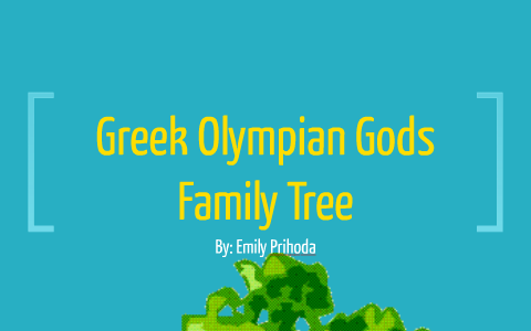 Greek Olympian Gods Family Tree By Emily P On Prezi