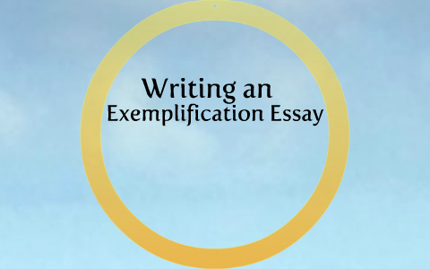 How To Write An Illustrationexemplification Essay By Tenille Nowak  How To Write An Illustrationexemplification Essay By Tenille Nowak On Prezi Essays On English Literature also Buy A Phd Uk  Best College Writng Service