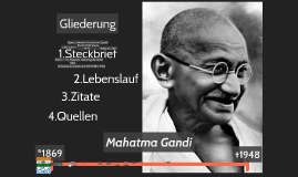 Mahatma Gadhi And Some Other People Incl