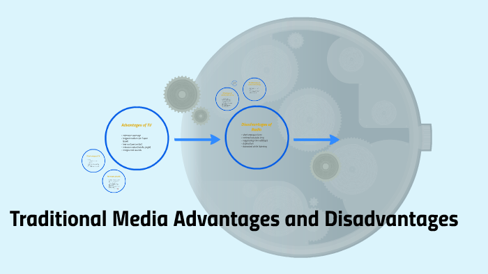 traditional media advantages and disadvantages