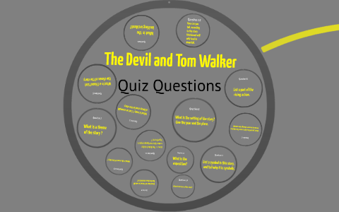 what is the climax in the devil and tom walker