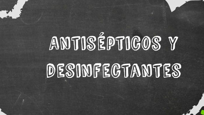 Antisepticos Y Desinfectantes En Farmacologia Veterinaria Farmacología Y Terapeútica Veterinarias