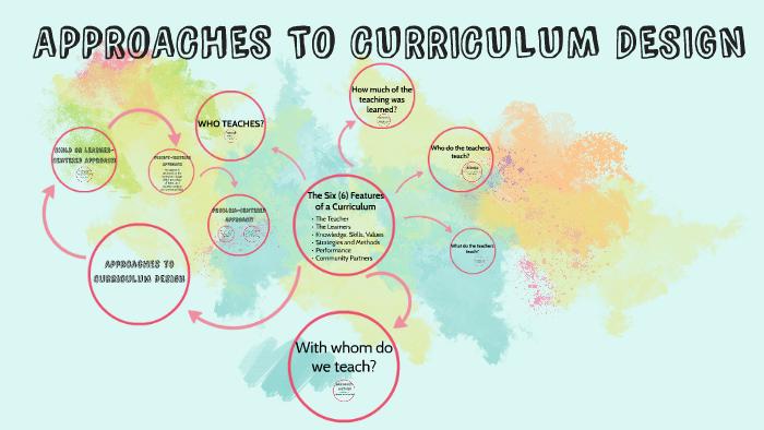 6 features of curriculum design