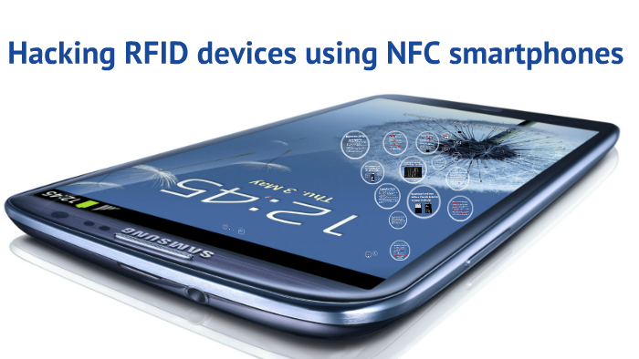 Hacking RFID devices using NFC smartphones by Pavol Luptak