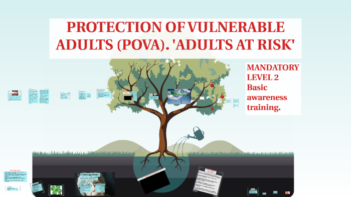 protection of adults at risk