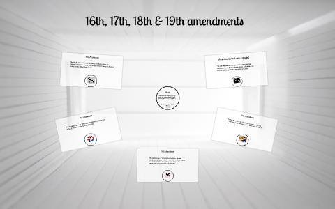 16th 17th 18th 19th Amendments By Carolina Ruiz On Prezi