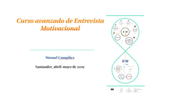 Curso Avanzado De Entrevista Motivacional Para Profesionales