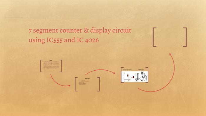 7 segment display circuit &