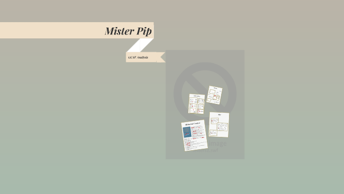 mister pip themes