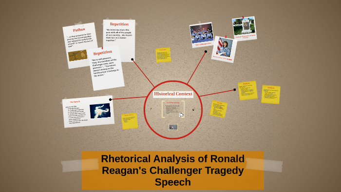 ronald reagan challenger speech rhetorical analysis essay