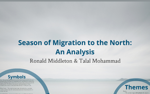 season of migration to the north sparknotes