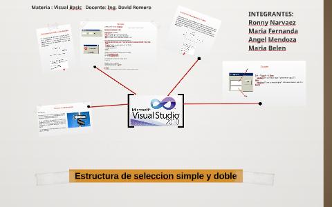Estructura De Seleccion Simple Y Doble By Ronny Narvaez On Prezi