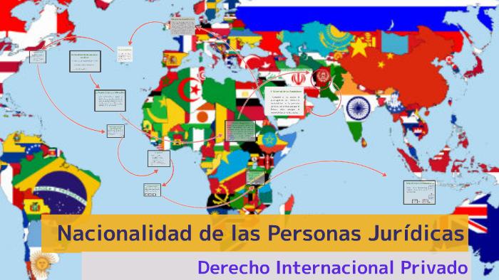 Nacionalidad De Las Personas Juridicas Y De Las Cosas By Blanca Pineda