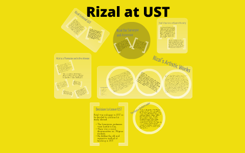 jose rizal education in ateneo and ust
