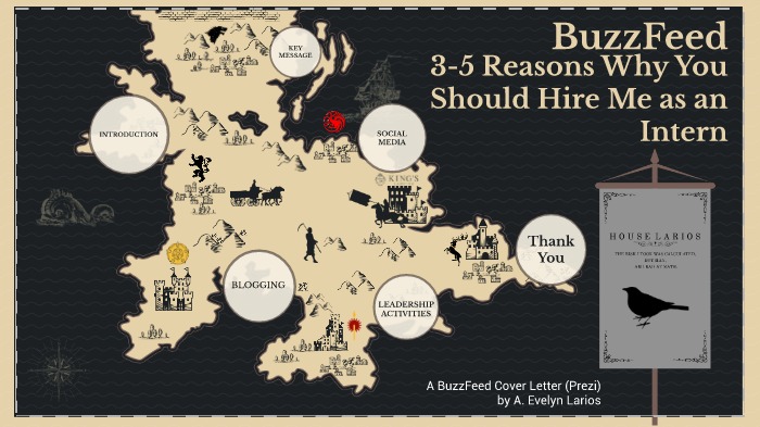 Buzzfeed Game Of Thrones Cover Letter By Ana Larios On Prezi