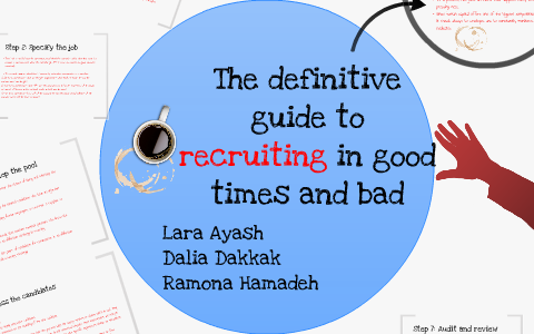 The definitive guide to recruiting in good times and bad (harvard.