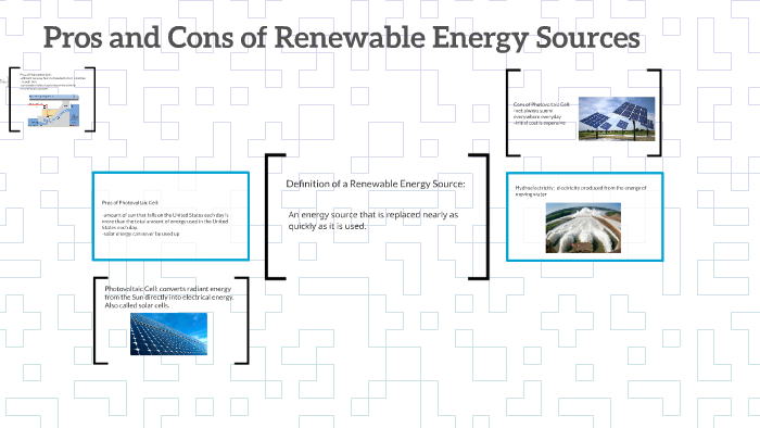 Cons Of Renewable Energy Sources