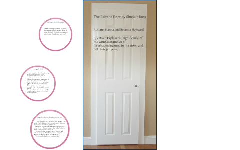 the painted door setting