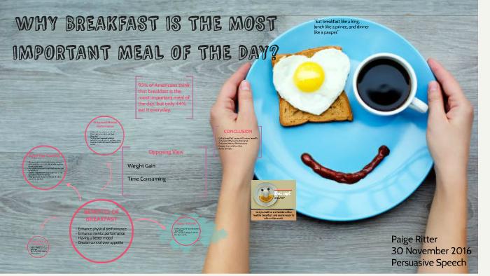 speech on breakfast