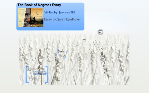 the book of negroes essay