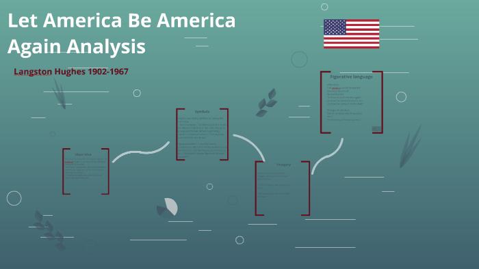 langston hughes let america be america again analysis