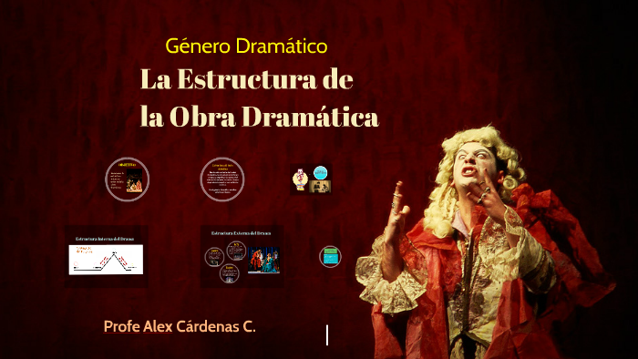 Estructura Del Texto Dramático By Alex Cárdenas Carrillo On