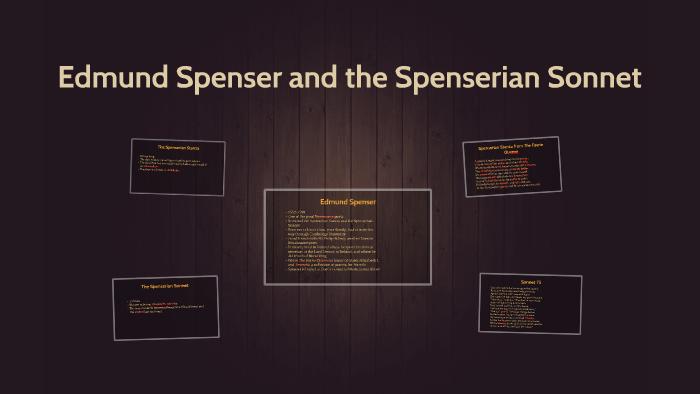 the spenserian sonnet