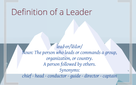 Leaders relationships to one another by Kristen Nie on Prezi