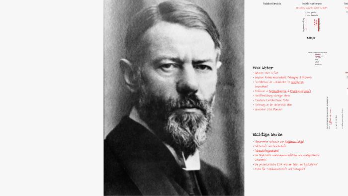 Max Weber By Tanja Rienesl On Prezi